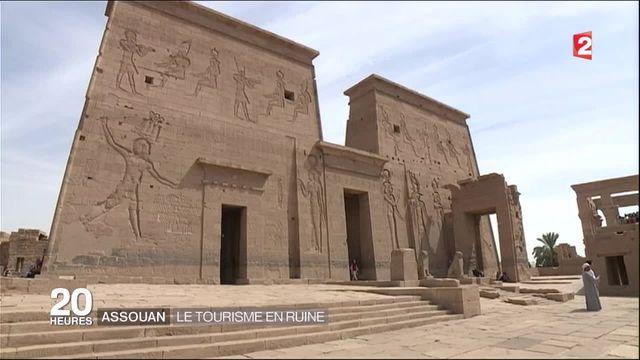 Assouan : le tourisme en ruine