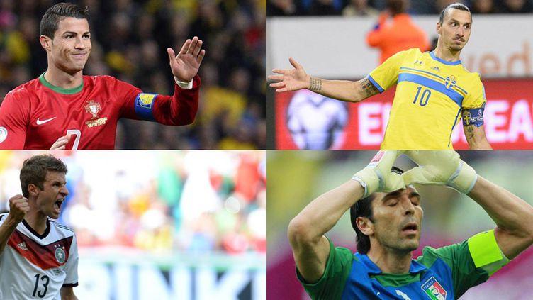 Ronaldo, Ibrahimovic, Müller et Buffon, les stars de l'Euro 2016