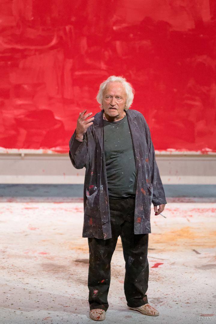 "Niels Arestrup dans ""Rouge"" (JEEPSTEY)"
