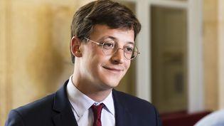 Sacha Houlié,député LREM de la Vienne, le 15 juin 2021. (VINCENT ISORE / MAXPPP)