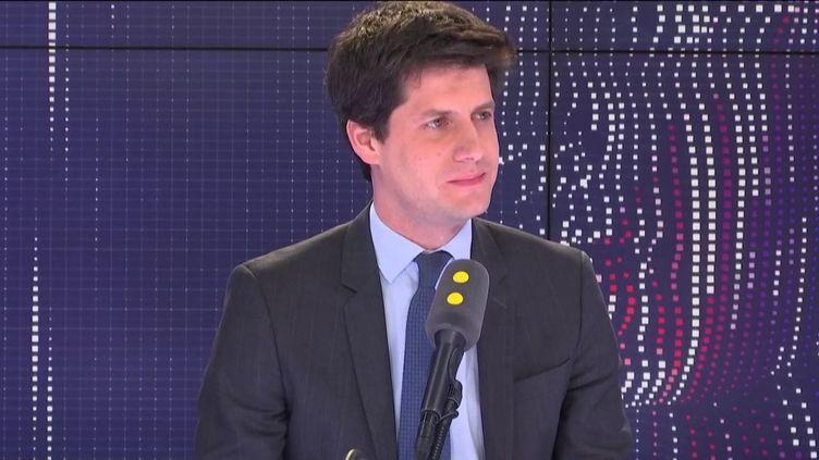 Julien Denormandie, le ministre chargé de la Ville et du logement, était l'invité de franceinfo vendredi 29 mars. (FRANCEINFO / RADIOFRANCE)