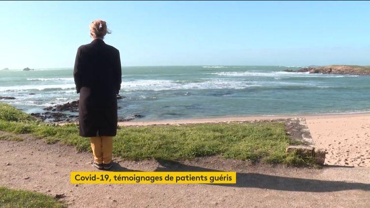 Guérie du Covid-19, cette Bretonne peut enfin profiter de l'océan (FRANCEINFO)