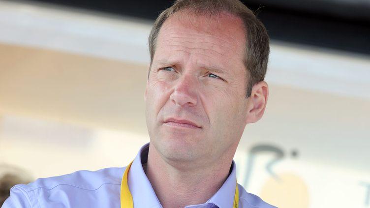 Christian Prudhomme, le patron de la course cycliste Paris-Roubaix, le 2 juillet 2011. (MAXPPP)
