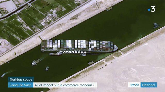 Cargo bloqué dans le canal de Suez : quelles conséquences sur le commerce mondial ?