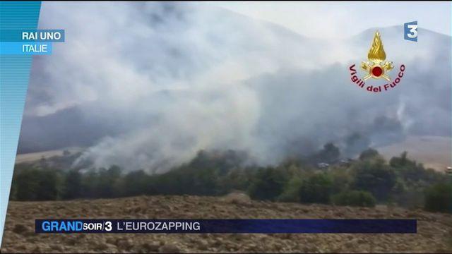Eurozapping : des pompiers pyromanes en Italie