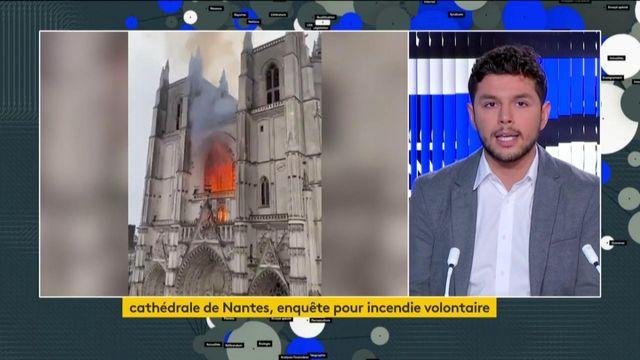 Incendie de la cathédrale de Nantes : l'enquête démarre et s'annonce difficile