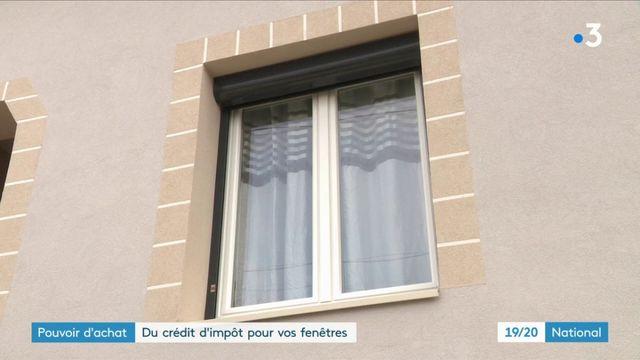 Pouvoir d'achat : un crédit d'impôt pour vos fenêtres