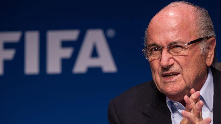 Sepp Blatter (SEBASTIEN BOZON / AFP)