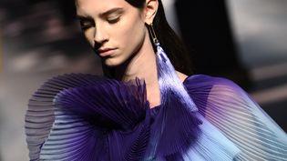 Givenchy haute couture printemps-été 2020, le 21 janvier 2020 à Paris (ANNE-CHRISTINE POUJOULAT / AFP)