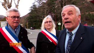 Avenue de l'Europe. Les maires de la vallée de la Roya en guerrecontre les camions italiens (FRANCE 3 / FRANCETV INFO)