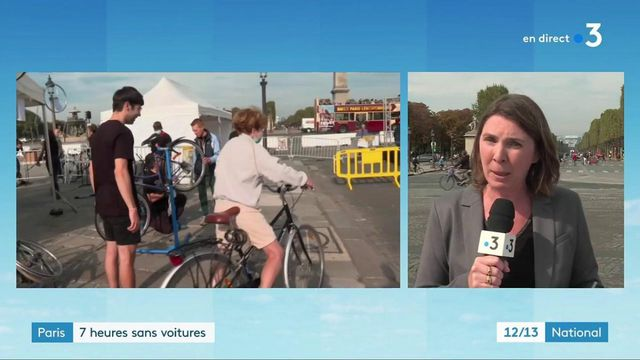 Transports : sept heures sans voiture à Paris