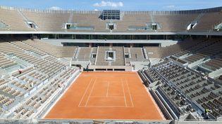 Le court Philippe Chatrier des Internationaux de France Roland Garros. (FABRICE ABGRAAL / RADIOFRANCE)