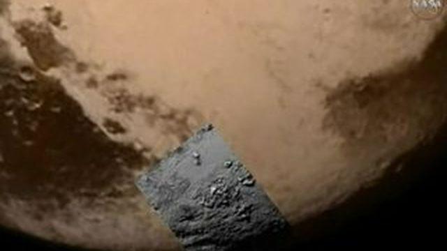 Des clichés haute définition de Pluton
