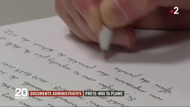 Documents administratifs : prête-moi ta plume