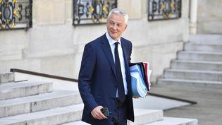 Bruno Le Maire, ministre de l'Economie et des Finances à l'Elysée. (ALAIN JOCARD / AFP)