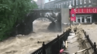 Inondations Maryland (FRANCE 2)