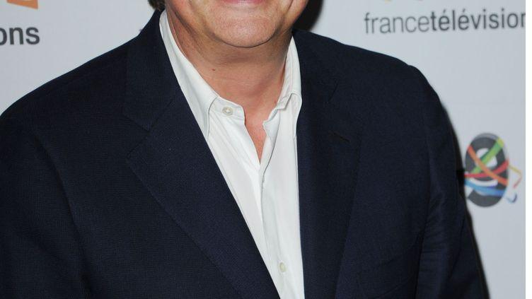 Le présentateur sportif Lionel Chamoulaud à France Télévisions, à Paris, le 29 juin 2016. (PJB/SIPA)