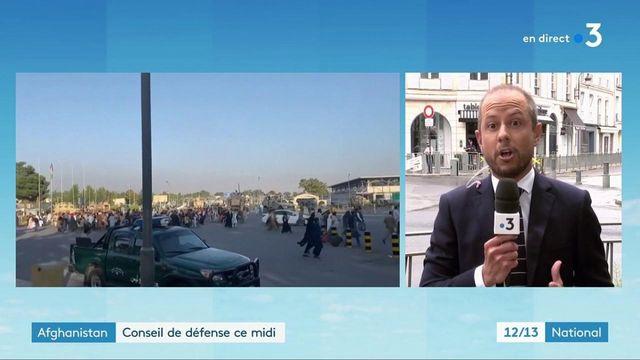Afghanistan : Emmanuel Macron mène un conseil de défense