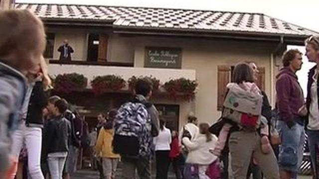 En Haute-Savoie, des élèves ont déjà repris les cours