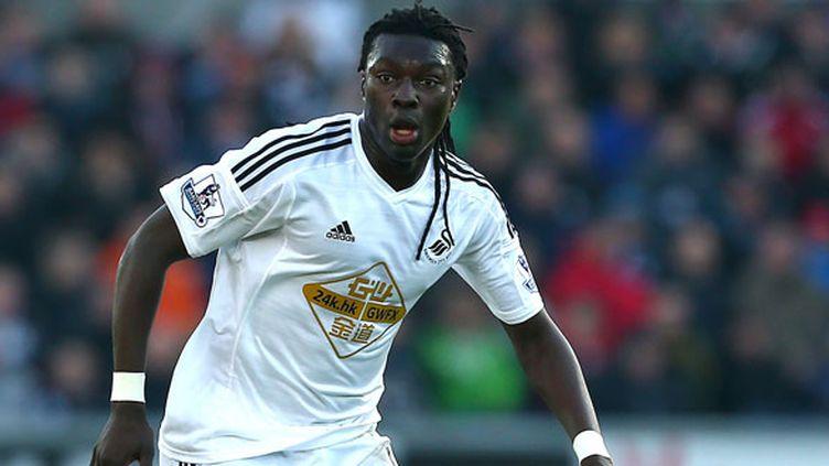 L'attaquant de Swansea, Bafetimbi Gomis