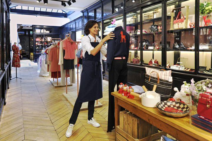 La boutique parisienne d'Inès de la Fressange, 2015  (Frederique Maitre)