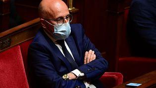 Le député LR Eric Ciotti à l'Assemblée nationale, à Paris, le 11 mai 2021. (MARTIN BUREAU / AFP)
