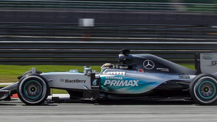 Lewis Hamilton, le pilote Mercedes