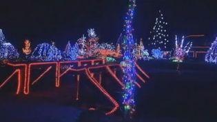 Illuminations de Noël en Croatie, le 11 décembre 2011. (REUTERS)