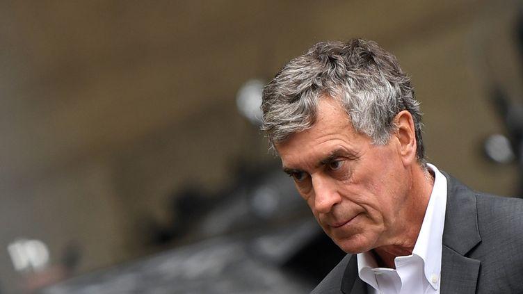 L'ancien ministre du Budget, Jérôme Cahuzac, le 15 mai 2018 à Paris. (ERIC FEFERBERG / AFP)