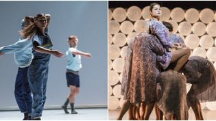 Les danseurs du ballet de l'opéra de Lyon dansent sur les chorégraphies de l'italien Alessandro Sciarroni et de l'espagnole Marina Mascarell  (MICHEL CAVALCA / )