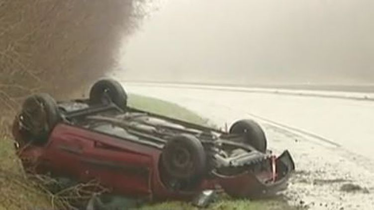 A28 accident (France 3)