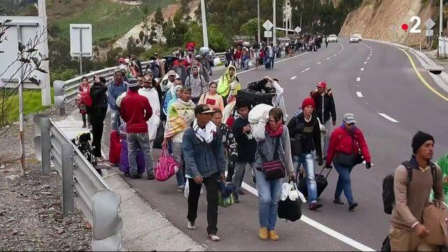 Venezuela : un exode massif