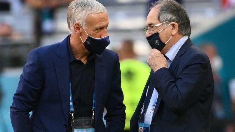 Le président de la Fédération Française de Football, Noël Le Graët, l'assure : la France jouera le tournoi olympique à Tokyo. (FRANCK FIFE / AFP)