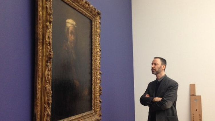 """""""Autoportrait au chevalet"""" Rembrand au Musée de Grenoble  (France 3 Alpes)"""