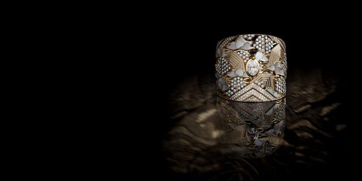 Bracelet Horizon Lointain, collection Coromandel Chanel haute joaillerie  (CHANEL Fine Jewelry)