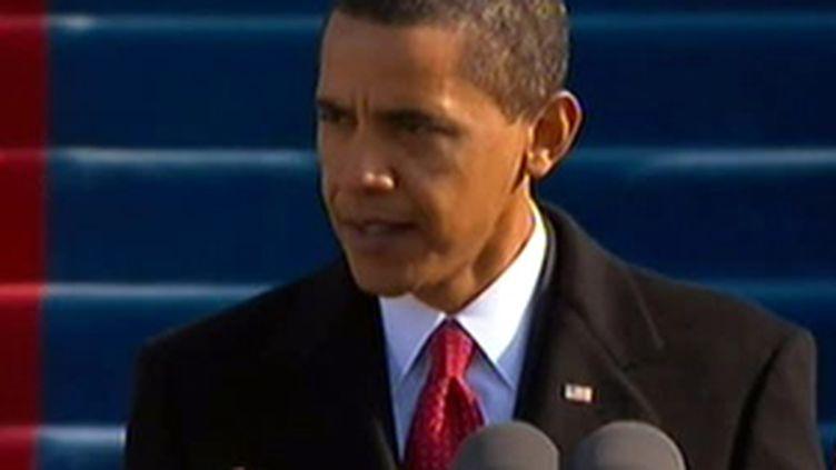 Discours d'investiture du président Obama (archives) (France 2)
