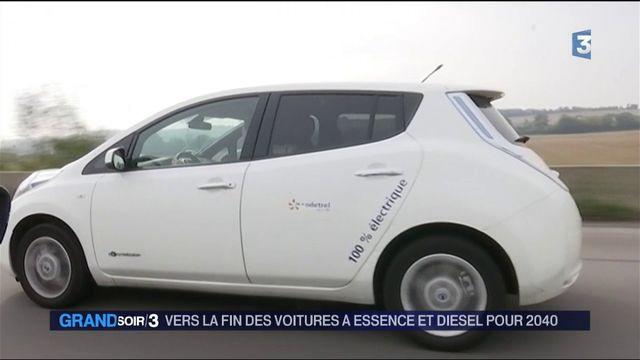 Automobile : vers la fin des voitures à essence et diesel pour 2040