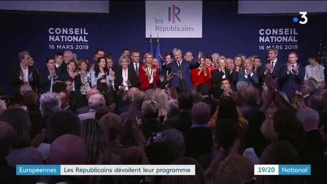 Européennes : la campagne des Républicains est lancée