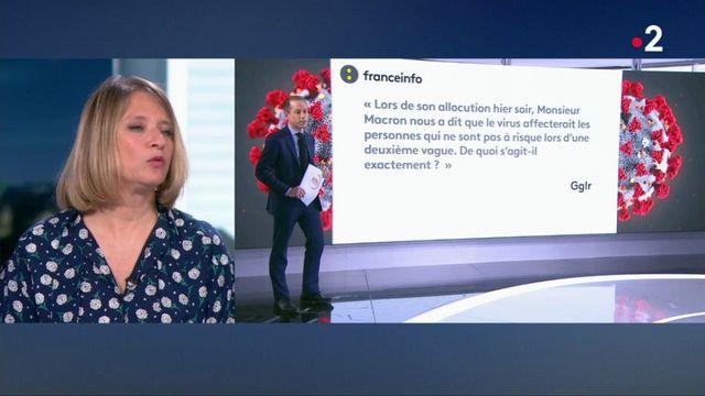 """L'infectiologue Karine Lacombe : """"ce n'est pas une grippe"""""""