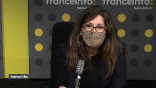 Sophie Deloche, productrice, le 30 novembre 2020. (FRANCEINFO / RADIOFRANCE)