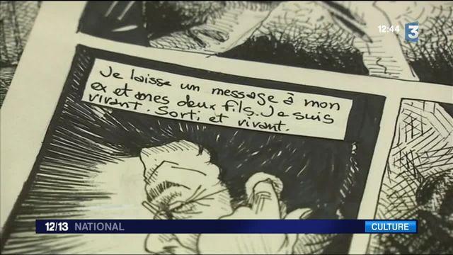"""""""Le Bataclan"""": le dessinateur Fred Dewilde publie une BD sur la nuit du 13 novembre"""