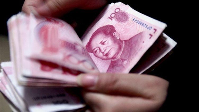Des billets de banque à Shenyang, au Nord-Est de la Chine. (archives) (AFP / Getty)