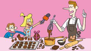 Salut l'info! plonge dans les coulisses gourmandes d'une chocolaterie, celle de Patrick Roger. (FRANCEINFO / RADIOFRANCE)