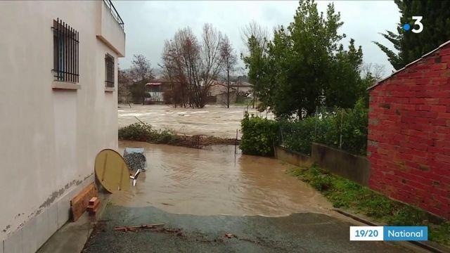Tempête Gloria : des habitants évacués dans l'Aude