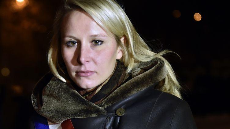 La députée FN du Vaucluse, Marion Maréchal-Le Pen, le 16 novembre 2016 à Moscou (Russie). (NATALIA KOLESNIKOVA / AFP)