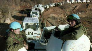 Des casques bleus néerlandais, le 28 février 1994, à Lukavac (Bosnie-Herzégovine). (ED OUDENAARDEN / ANP)
