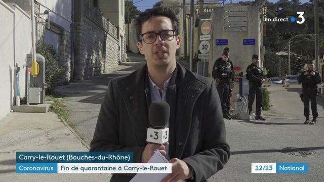 Covid-19 : fin de quarantaine à Carry-le-Rouet