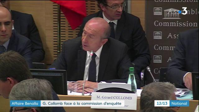 Affaire Benalla : Gérard Collomb face à la commission d'enquête