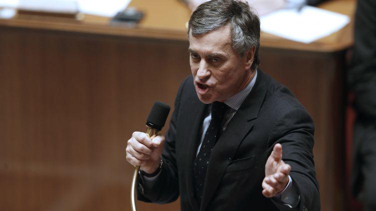 Le ministre du Budget, Jérôme Cahuzac, à l'Assemblée nationale à Paris, le 5 février 2013. (FRANCOIS GUILLOT / AFP)