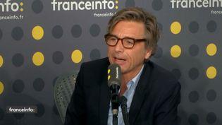 Guy Lagache,directeur des antennes de Radio France, le 28 janvier 2019 sur franceinfo. (RADIO FRANCE / FRANCEINFO)